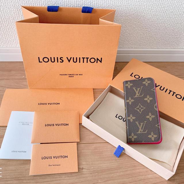 手帳 iphone7 | LOUIS VUITTON - ヴィトン iPhoneケース の通販 by みちょん's shop|ルイヴィトンならラクマ