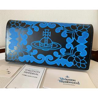 ヴィヴィアンウエストウッド(Vivienne Westwood)の39000円正規品Vivienne Westwood♡ORBプリントレザー長財布(財布)