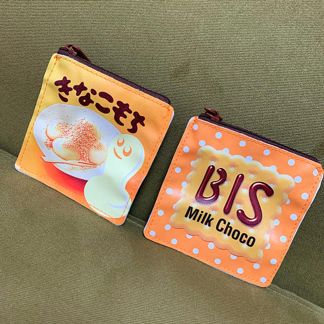 dior iphone8 ケース 財布 | BANDAI - チロルチョコ きなこもち ビスケット ポーチの通販 by Betty|バンダイならラクマ
