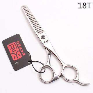 【新品未使用・送料込】すきハサミ トリミング シザー 6インチ 理容美容師18T(散髪バサミ)