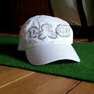 マークアンドロナ(MARK&LONA)のマーク&ロナ ゴルフ キャップ 帽子 スカルマーク(ウエア)