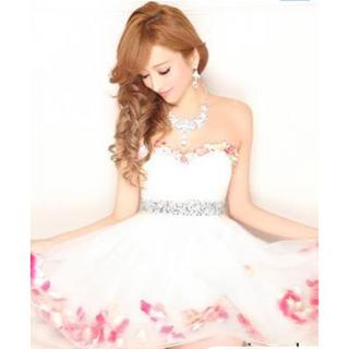 242ee129bfade エミリアウィズ(EmiriaWiz)のemiriawiz☆花びらドレス(ミニドレス)