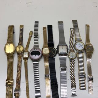 ラドー(RADO)のジャンク時計まとめて10本ラドー、エルジンなど(その他)