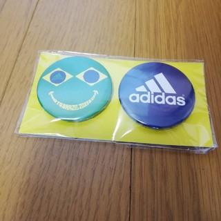 アディダス(adidas)の新品 アディダス 缶バッジ 缶バッヂ ブラジル 非売品 レア ノベルティ(バッジ/ピンバッジ)