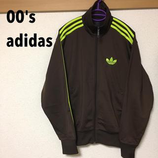 アディダス(adidas)の【レアカラー】アディダス FB TT ブラウン/ネオン(ジャージ)