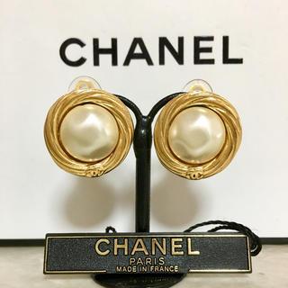 cad4a6ba5d30 シャネル(CHANEL)の正規品 シャネル イヤリング パール ゴールド ココマーク 丸 金 真珠