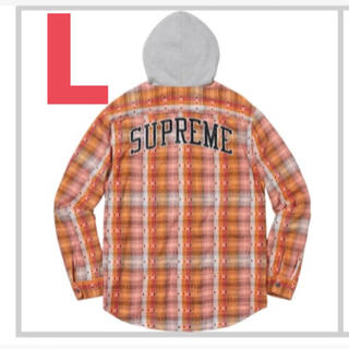 シュプリーム(Supreme)の「supremeflannelshirt(シュプリーム)」 ネルシャツ (ポロシャツ)