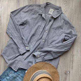 ディスコバレー(DISCO VALLEY)のdiscoat ディスコート ストライプシャツ(シャツ/ブラウス(長袖/七分))