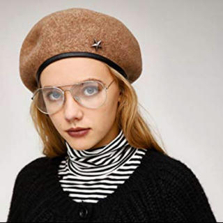 マウジー(moussy)のmoussy ベレー帽(ハンチング/ベレー帽)