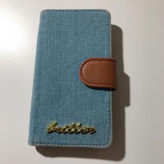 シマムラ(しまむら)のiPhone 手帳型ケース デニム iPhone6(iPhoneケース)