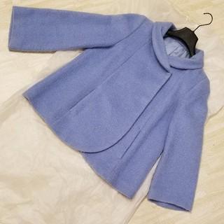 アナイ(ANAYI)の年末セール!ANAYI 水色女優襟コート(ピーコート)