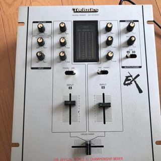 テクニクス SH-EX1200  シルバー(DJミキサー)