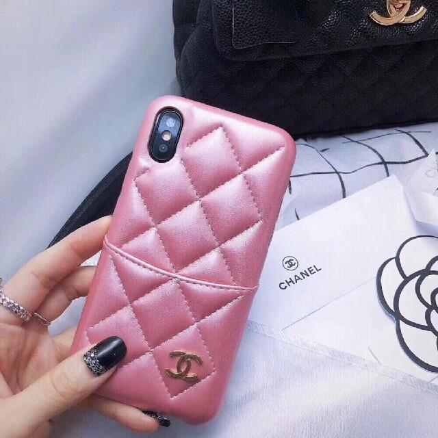 CHANEL - 携帯ケース アイフォンケースの通販 by dgfdgd's shop|シャネルならラクマ