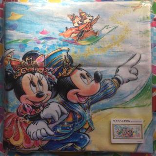 ディズニー(Disney)のディズニー35周年 ワイドバスタオル 新品未開封(その他)