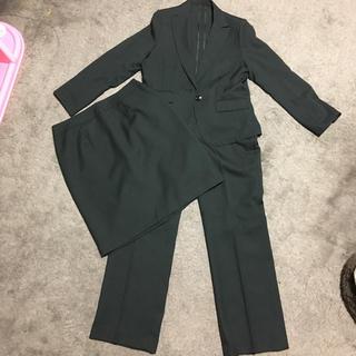 シマムラ(しまむら)のスーツ 3点セット 大きいサイズ ブラック(スーツ)