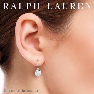 ラルフローレン(Ralph Lauren)のRalph Lauren ラルフ・ローレン 揺れるおしゃれな丸いロゴ入りピアス(ピアス)