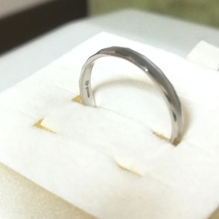 カナルヨンドシー(canal4℃)のcanal4℃ メンズ リング ホワイトゴールド 送料無料(リング(指輪))