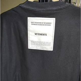 d60f7470b02f Balenciaga - vetements insideout Tシャツ オーバーサイズ
