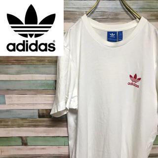 アディダス(adidas)のアディダス オリジナルス Tシャツ カットソー トレフォイル ワンポイントロゴ(Tシャツ/カットソー(半袖/袖なし))