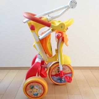 アンパンマン(アンパンマン)の<専用>アンパンマン 折りたたみ三輪車(三輪車)