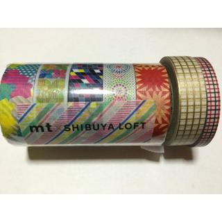 エムティー(mt)のmt ×Shibuya loft 限定マステと 二本マステセット 新品未使用品(テープ/マスキングテープ)