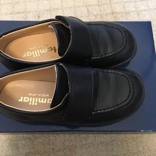 ファミリア(familiar)のファミリア ローファー 黒 17 Familiar(ローファー/革靴)