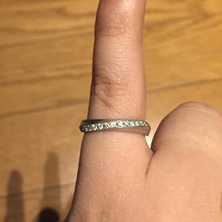 ニワカ(俄)の俄  ダイヤモンドリング  綺羅(リング(指輪))