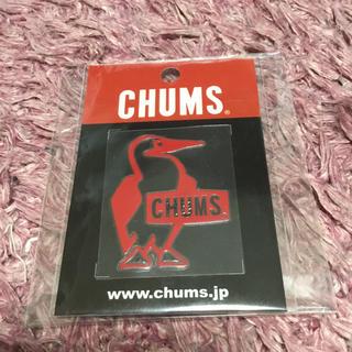 チャムス(CHUMS)のCHUMS ステッカー 赤(ステッカー)