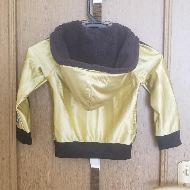 adidas(アディダス)のadidasパーカー100 キッズ/ベビー/マタニティのキッズ服 女の子用(90cm~)(ジャケット/上着)の商品写真