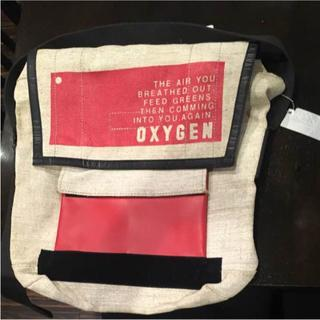 オキシゲン(OXYGEN)のoxygen メッセンジャーバッグ 大小自在 新品未使用(トートバッグ)