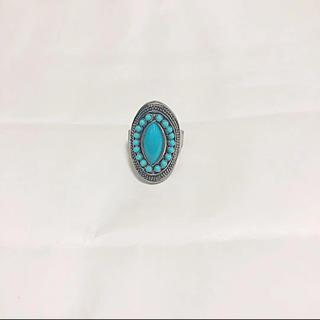ターコイズ シルバーリング 指輪(リング(指輪))