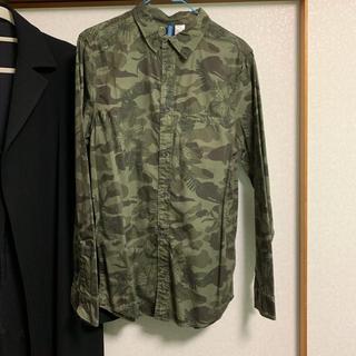 エイチアンドエム(H&M)の迷彩シャツ H&M(シャツ)