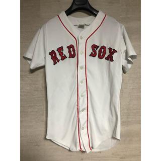 ナイキ(NIKE)のRED SOX pro knit ベースボールシャツ 古着(シャツ)