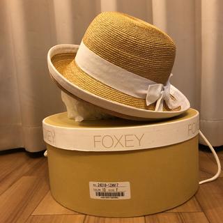 フォクシー(FOXEY)の帽子  FOXEY (麦わら帽子/ストローハット)