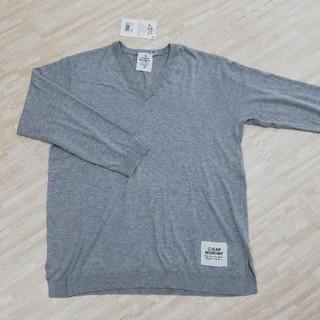 チープマンデー(CHEAP MONDAY)のCHEAP MONDAYのロング丈薄手セーター!新品激安!(ニット/セーター)