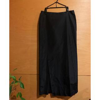 ジルサンダー(Jil Sander)のジルサンダー Jil Sander 黒スカート(ロングスカート)