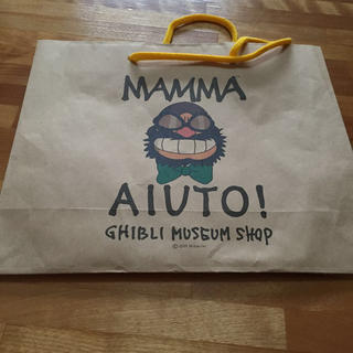 ジブリの森美術館★紙袋★ショッパー レディースのバッグ(ショップ袋)の