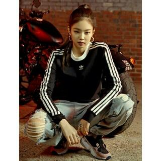 アディダス(adidas)の【新品】adidas Originals Three Stripe ロンT(Tシャツ(長袖/七分))