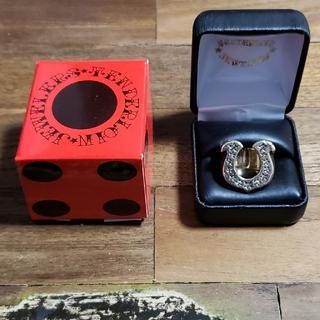 テンダーロイン(TENDERLOIN)のTENDERLOIN ホースシューリング gold ダイヤ(リング(指輪))