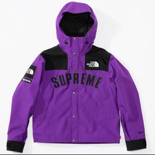 シュプリーム(Supreme)のシュプリーム  ノースフェイス supreme マウンテンパーカー パープル 紫(マウンテンパーカー)