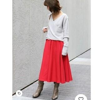 ノーブル(Noble)のSpick and Span Noble/Wタイプライターフレアースカート(ひざ丈スカート)