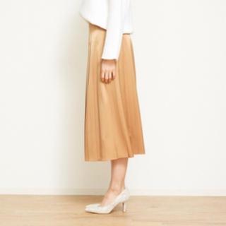 デザインワークス(DESIGNWORKS)の2018ss デザインワークス ゴールド スカート 定価41000円(ロングスカート)