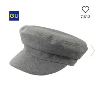 ジーユー(GU)のGUキャスケット(キャスケット)