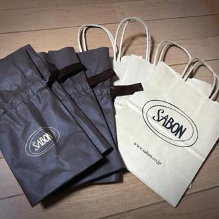 サボン(SABON)のサボン SABON ラッピング×ショップバック 4セット (ラッピング/包装)