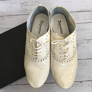 レペット(repetto)の美品⭐️レペット ZIZI FLEURI Patent レースアップシューズ (ローファー/革靴)