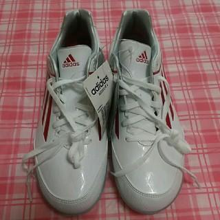 アディダス(adidas)のアディダス ジュニア アディゼロ 23.5㎝ ホワイト 野球 スパイク シューズ(シューズ)