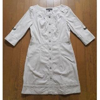 3d77c8e8324ea ボディドレッシングデラックス(BODY DRESSING Deluxe)の七分袖 ワンピース(ひざ丈