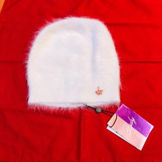 カシラ(CA4LA)の60%OFF❗️ アンゴラポイントシャンデリアニット帽 ニットキャップ(ニット帽/ビーニー)