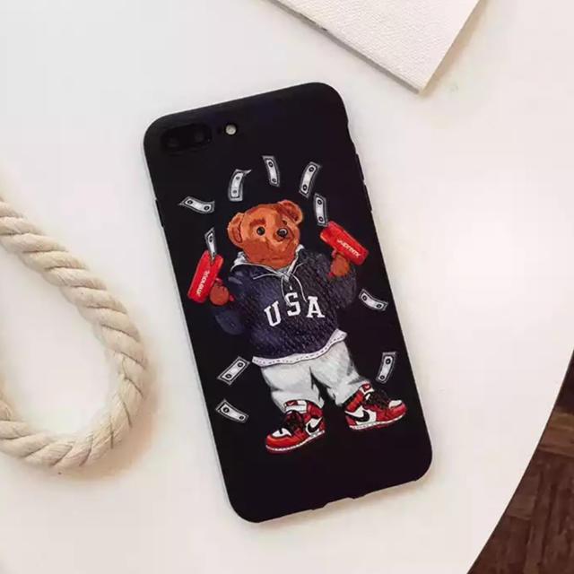 ケイト スペード iphone8plus ケース / 大人気★ iPhoneケース ポロベア 熊 ブランド 可愛いの通販 by リツshop 海外|ラクマ