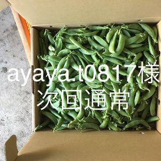 鹿児島産スナップエンドウ2キロ次回通常(野菜)